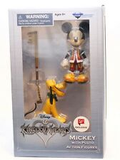 Kingdom Hearts Series 1 Mickey with Pluto Figures Diamond Select Toys NEW DISNEY