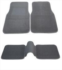 Heavy Duty Full Set 5pc Car Carpet Mats Compatible to Toyota -Gray