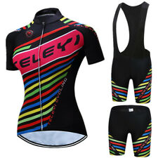 2019 Women Bicycle Clothes Quick Dry Cycling Jersey Set Quick-Dry Ropa Ciclismo