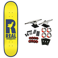 """Real Skateboard Complete Doves Renewal Yellow/Navy 8.38"""" x 32.25"""""""