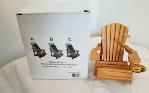 NEW Adirondack Chair Cell Phone Stand