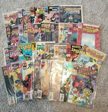 Lot Of 30 Spiderman Comic Books 80s And 90s