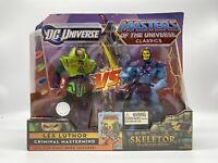 MOTUC Skeletor Vs Lex Luth Masters of the Universe MOTU DC Universe Classics MIB