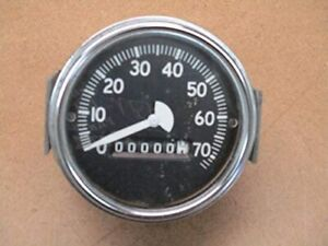 Speedometer 70 mph 1947-CJ-2A Willys Jeep