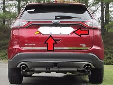 Fits Ford Edge 2015-2018 Stainless Polished Chrome License Plate Trim 1PC