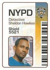 CSI New York Series 1 Un-released Error ID Chase Card Sheldon Hawkes