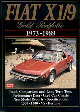 FIAT X1/9 BERTONE X19 BOOK PORTFOLIO GOLD
