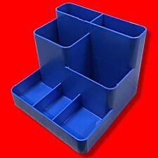 Scrivania per Penna POT Sorter ORGANIZER UFFICIO titolare vassoio di plastica blu