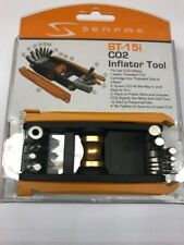 NEW Serfas ST-15i CO2 Inflator 15 Function MultiTool- Bicycle Allen Key tools