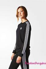 NEW!! Adidas 3-Stripes Women's Long Sleeves CHIFFON SWEATSHIRT  XS, S - AY5241