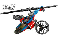 LEGO SUPER HEROES MARVEL  SPIDER-HELICOPTER RESCUE  Ref 76016   NO MINIFIGURAS