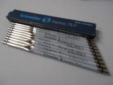 10x Schneider Express 75 F schwarz Kugelschreibermine 7501 NEU&OVP