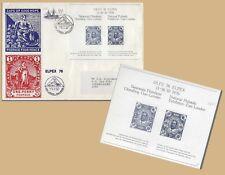 SOUTH AFRICA 1976 ELPEX FIRST DAY COVER & MATCHING MNH SOUVENIR SHEET 0690