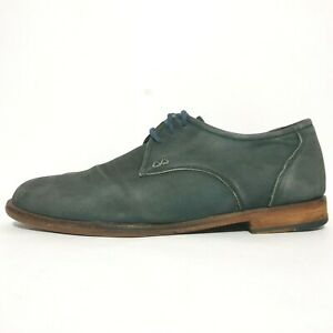 Bared Shoes Sz 42 Blue Leather Oxford Lace Up 'Carbon' Comfort Mens RRP $269