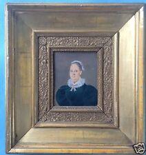 Biedermeier Miniatur Porträt eleg. Dame Maria Anna Gutleben geb. Sorg Bozen~1834