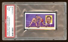 PSA 9 SUGAR RAY ROBINSON 1959 TOP FLIGH STAR ROOKIE RC #11 POP 22  ONLY 5 HIGHER