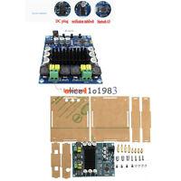 TPA3116D2 120W X 2 Bluetooth 4.0 Audio Receiver Digital Amplifier Board Case