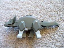 LEGO Adventurers Dino Dinosaur - Rare Original - Gray Triceratops - Excellent