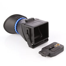 "3.0X LCD Viewfinder For 3""-3.2"" Canon 5D II III 7D 60D 650D Nikon Sony Olympus"