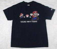 Nintendo Super Mario Men's Size Large Short Sleeve Shirt