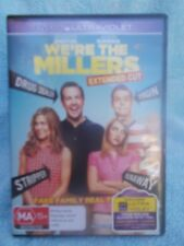 WERE THE MILLERS(EXTENDED CUT JENNIFER ANISTON,JASON SUDEIKIS DVD MA R4