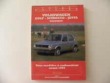 Collection votre voiture VW GOLF - SCIROCCO - JETTA essence / E.T.A.I