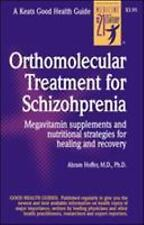 Orthomolecular Treatment for Schizophrenia by A. Hoffer (1999, Paperback)