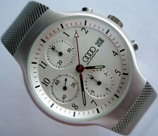 Audi Quattro Motorsport DTM Line Rally Racing Sport Car Design Chronograph Watch