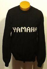vintage men's YAMAHA homemade hand knit sweater size LARGE