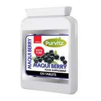 Maqui Berry STRONG Weight Loss Antioxidant Tablets Speeds Up Metabolism Purvitz