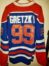 NWT Wayne Gretzky Edmonton Oilers Throwback Home Jersey CCM Size Medium (48)
