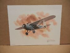 VTG United Airlines Airplane Print - Breese 5 Monoplane by Nixon Galloway 1979