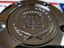 Cadillac Zenith Dayton Wire Wheel 2.25 Metal Chip Emblems Chrome