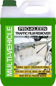 TRAFFIC FILM REMOVER CAR SHAMPOO TFR WASH WAX 5 LITRES CAR CLEANING PRO-KLEEN