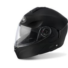 casco da moto modulare e apribile AIROH RIDES colore nero opaco taglia L