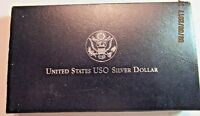 1991 USO SILVER DOLLAR PROOF FREE SHIPPING !