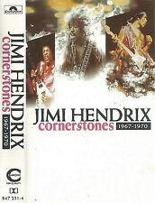 Jimi Hendrix ‎Cornerstones 1967-1970 CASSETTE ALBUM Blues Rock Psychedelic Rock