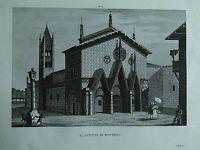 1845 Zuccagni-Orlandini Veduta Abbazia di Sant'Antonio di Ranverso