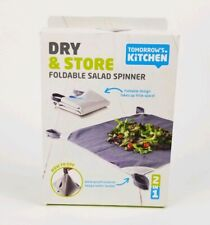 Tomorrow's Kitchen Dry And Store Salad Spinner