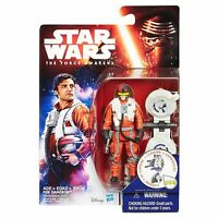 Star Wars The Force Awakens 3.75-Inch Figure Space Mission Poe Dameron mip