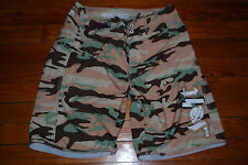 "Men's LOST Camo ""The Mayhem"" Board Shorts Swim Trunks (Medium)"