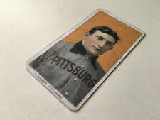 Honus Wagner T206 Baseball card Piedmont 1909 1910 Vintage aged Replica
