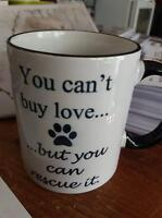 New Start Cat Rescue You can't buy love Mug
