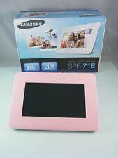 Samsung SPF-71E Digitaler Photorahmen SD Karte / USB Rosa