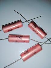 Condensateur 4.7 µF 100V MKC Polycarbonate  NOS  lot  de 6 pieces