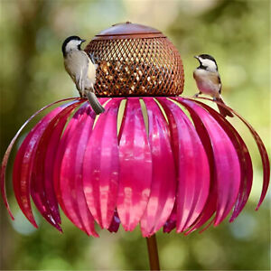 Flower bird feeder garden decoration FADDISH