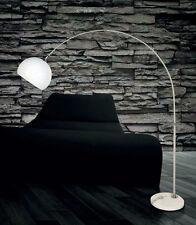 Piantana lampada da terra ad arco easy stelo 190 x 170 cm moderno design Talli