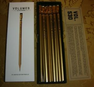 Palomino Blackwing Pencils VOLUMES 530 SUTTER'S MILL Gold Rush - Full Box of 12!