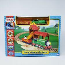 Thomas TrackMaster Train Set Percy's Day at the Farm Motorized HiT New Opened