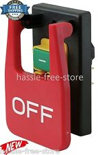 Paddle Switch Wall Mount Power Tool Safety Router Table Saw On Off Garage Work